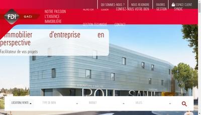 Site internet de Fdi Gaci