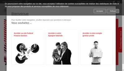 Site internet de Arkea Investment Services Arkea Banque Privee