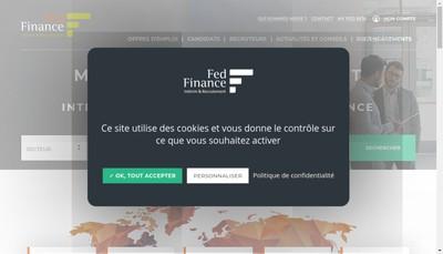 Site internet de Fed