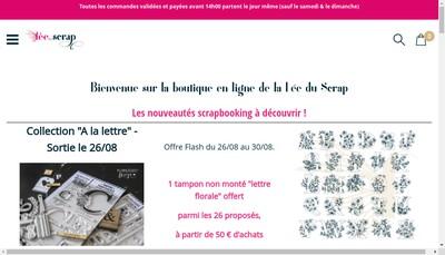 Site internet de Fee du Scrap