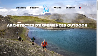 Site internet de Feel Event Spirit
