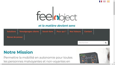 Site internet de Feelobject