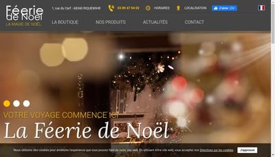Site internet de Feerie de Noel