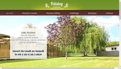 Site internet de SARL Felidog