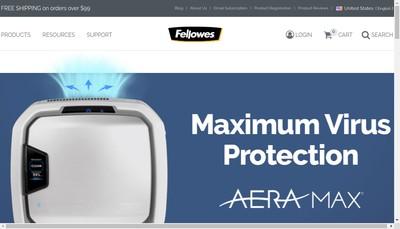 Site internet de Fellowes SAS