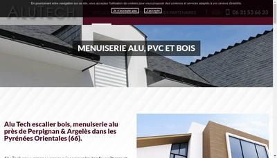 Site internet de Alu Tech
