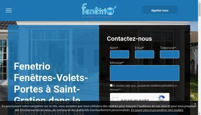 Site internet de Fenetrio
