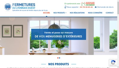 Site internet de Fermeture du Lyonnais