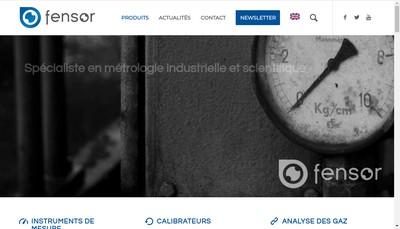 Site internet de Fensor