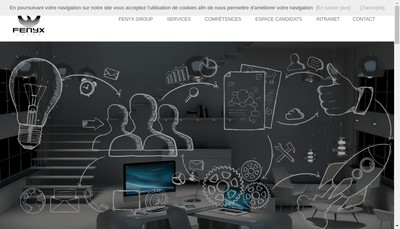 Site internet de Fenyx Consult