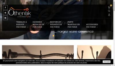 Site internet de Fer Forgé Main
