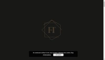 Site internet de Fer & Tendance