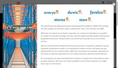 Site internet de Stow Sezanne
