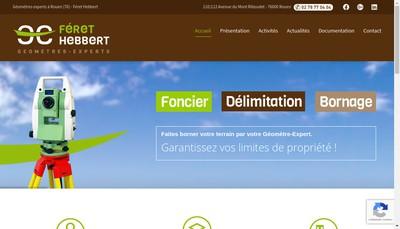 Site internet de Feret Hebbert