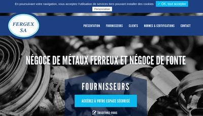 Site internet de Fergex