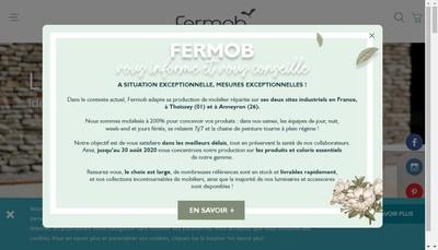 Site internet de Fermob