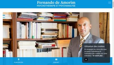 Site internet de Fernando de Amorim