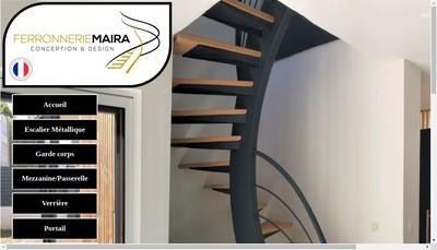 Site internet de Ferronnerie Maira