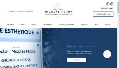 Site internet de Cabinet du Docteur Nicolas Ferry