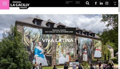 Site internet de Festival Photo la Gacilly