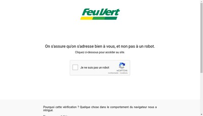 Site internet de Feu Vert Soleil