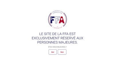 Site internet de Ffa Paradis