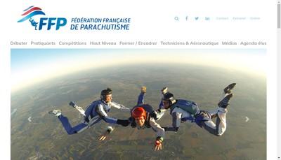 Site internet de Federation Francaise de Parachutisme