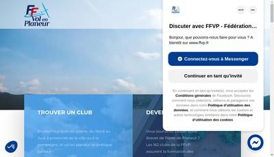 Site internet de Federation Francaise de Vol en Planeur