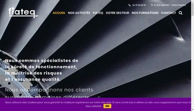 Site internet de Fiateq SARL