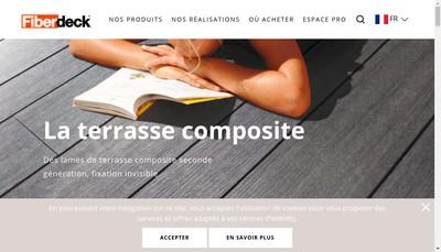 Site internet de Fiberdeck