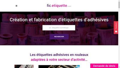 Site internet de Fournitures Industrielles Consommation