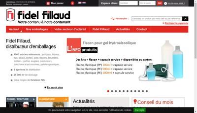 Site internet de Fillaud