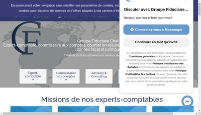 Site internet de Fiduciaire Chafii Lyonnaise