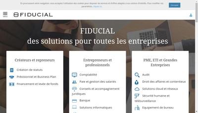 Site internet de Fiducial Fmer
