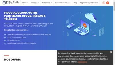 Site internet de Nexto