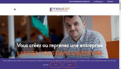 Site internet de Fiduciaire du Bas-Rhin