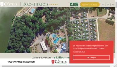 Site internet de Camping du Parc de Fierbois