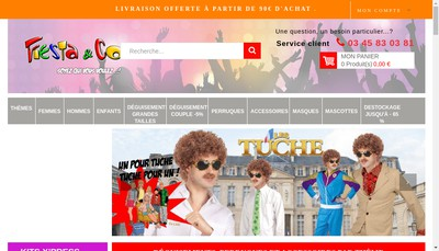 Site internet de Fiesta et Co