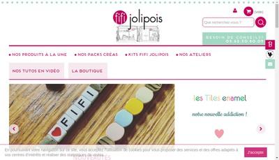 Site internet de Fifi Jolipois