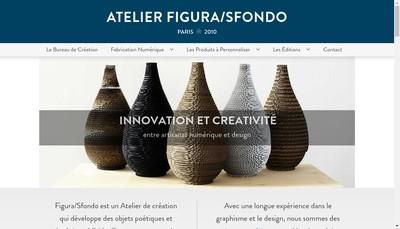 Site internet de Atelier Figura Sfondo