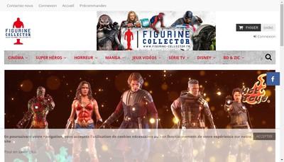 Site internet de Figurine Collector