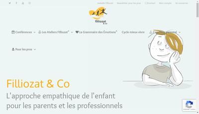 Site internet de Filliozat & Co SARL