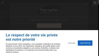 Site internet de SARL Fillon-Maillet et Fils