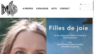 Site internet de Les Films du Poisson