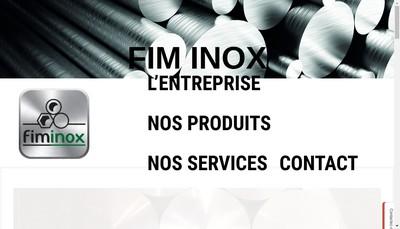 Site internet de Fim Inox Industrie