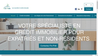 Site internet de Residences Selection