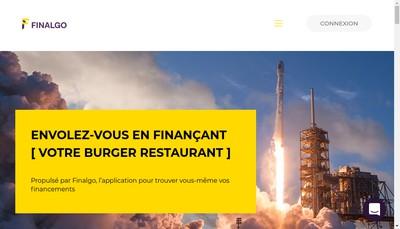 Site internet de Finalgo