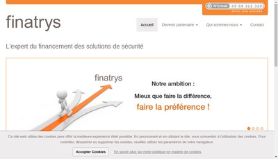 Site internet de Finatrys