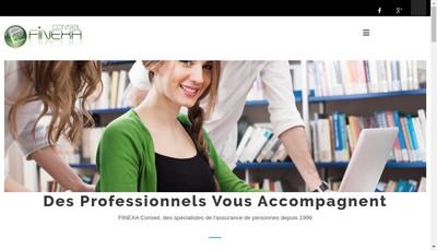 Site internet de Finexa Conseil