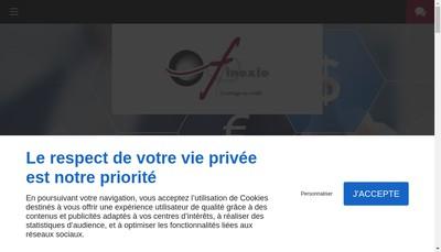 Site internet de Finexio